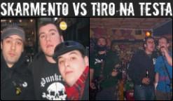 TIRO NA TESTA vs SKARMENTO