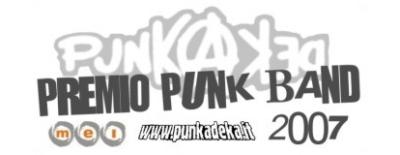 PREMIO PUNK BAND 2007