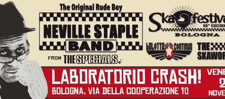 NEVILLE STAPLE from THE SPECIALS @ Ska Festival Bologna