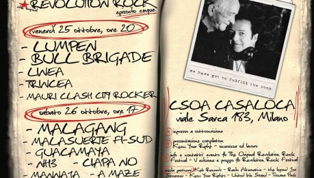 25/26 Ottobre – The Original REVOLUTION ROCK FESTIVAL