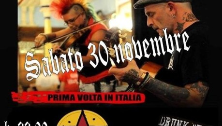BALSALL HEATHENS feat. JOCK BLYTH (GBH) @ FOA Boccaccio 003 Monza