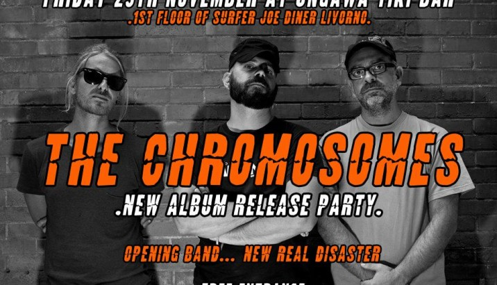 THE CHROMOSOMES: Release Party il 29/11 !