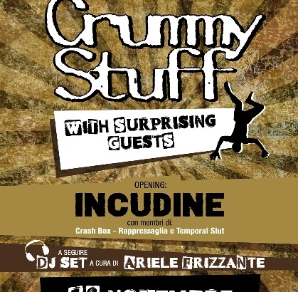 CRUMMY STUFF reunion concert con guest!