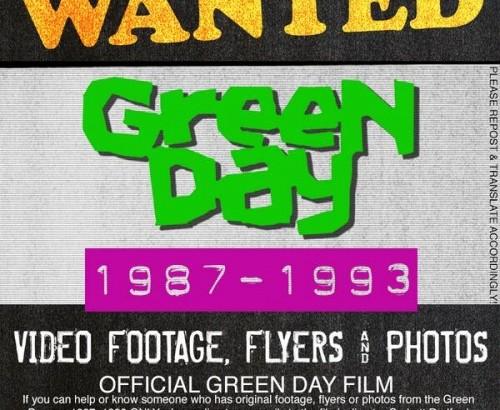 GREEN DAY: documentario dal 1987 al 1993