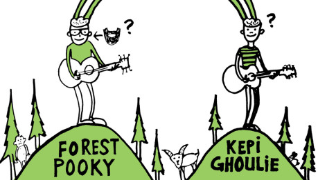 KEPI GHOULIE: in streaming lo split con Forest Pooky