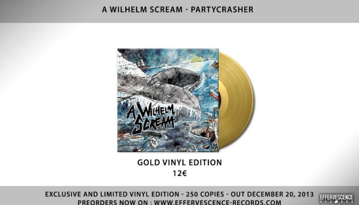 A WILHELM SCREAM Exclusive and limited gold vinyl edition