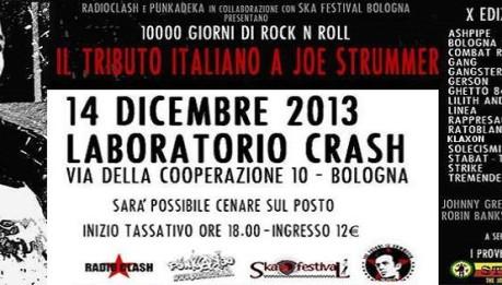 Sabato 14 dicembre: si avvicina il TRIBUTO ITALIANO A JOE STRUMMER