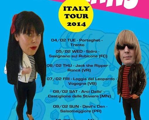THE DAHLMANNS: tour italiano a febbraio