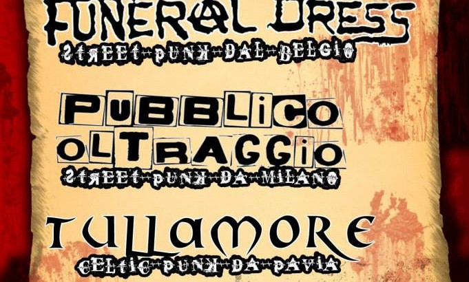 Unica data italiana per i FUNERAL DRESS