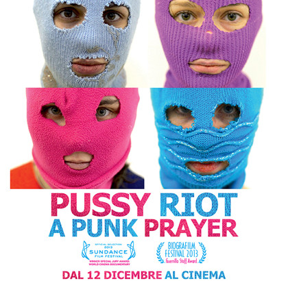 """Pussy Riot – A Punk Prayer"" in streaming"