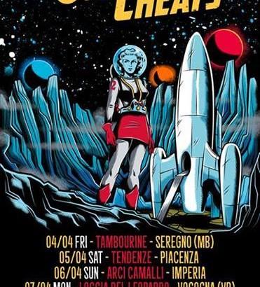 DAN VAPID & THE CHEATS: tour italiano di 7 date ad aprile