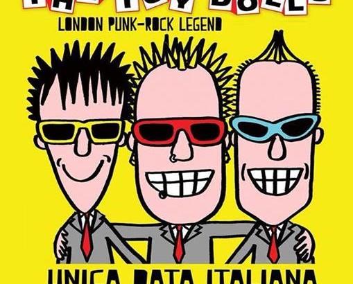 Sabato 8 marzo TOY DOLLS a Bologna
