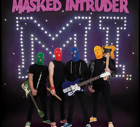 Dettagli del nuovo album dei MASKED INTRUDER