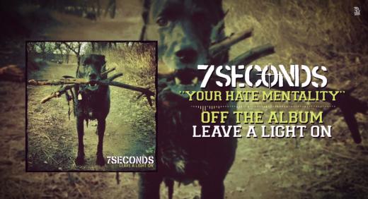"""7 SECONDS: primo singolo estratto da """"Leave a Light On"""""""