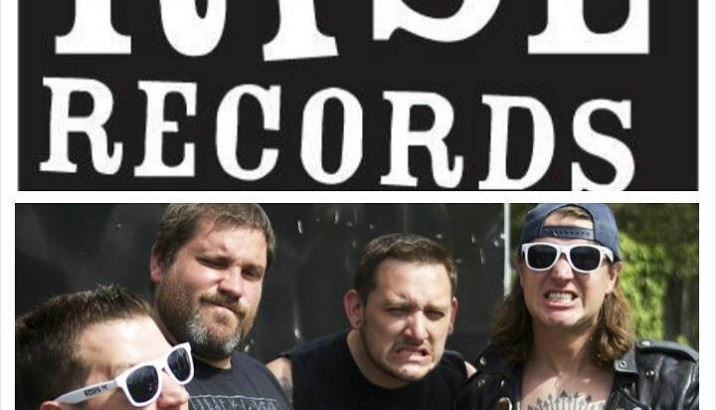 TEENAGE BOTTLEROCKET sotto Rise Records!