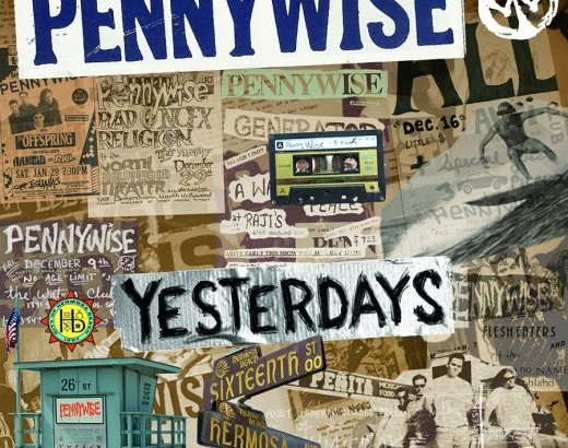 "PENNYWISE: nuovo pezzo e tracklist di ""Yesterdays"""