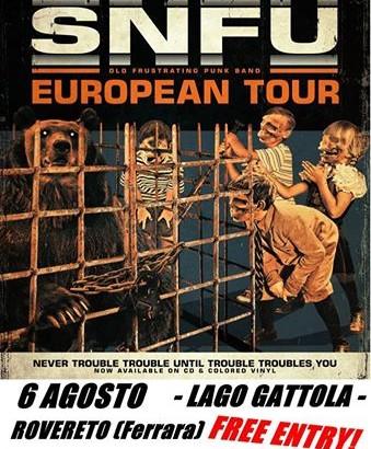 SNFU di nuovo in Italia per un'unica data a inizio agosto