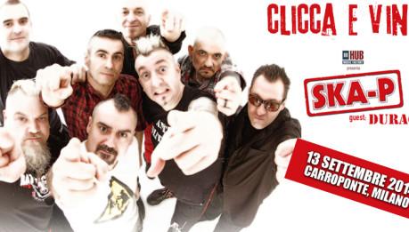 SKA-P al Carroponte: Vinci i biglietti!