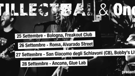 ANTILLECTUAL: 4 date in Italia a fine settembre