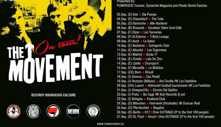 THE MOVEMENT .. on tour!