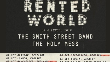 The Menzingers + The Smith Street Band + The Holy Mess, 8/10/2014, Paradiso (Amsterdam)