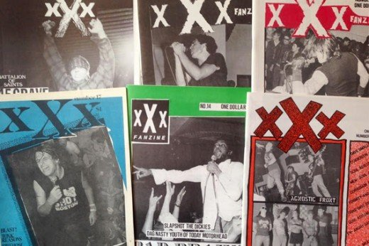 XXX Fanzine: libro-compilation per la BRIDGE 9 RECORDS