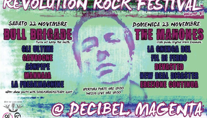 The original REVOLUTION ROCK FESTIVAL!! VI edizione