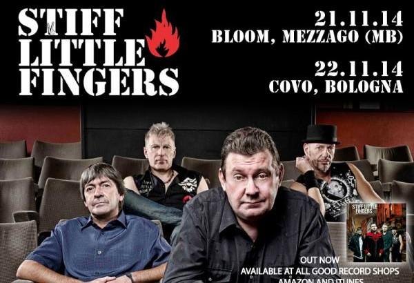 STIFF LITTLE FINGERS in Italia per due date