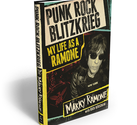"Marky Ramone: ""Punk Rock Blitzkrieg: My life as a Ramone"""