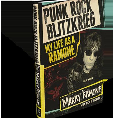 "Marky Ramone: ""Punk Rock Blitzkrieg: My life as a Ramone"""