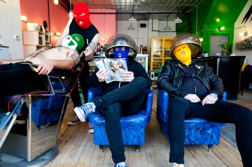 "MASKED INTRUDER: video di ""Crime Spree"""