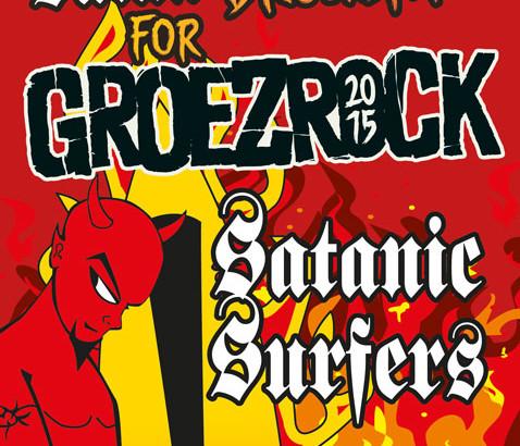 SATANIC SURFERS al Groezrock 2015!