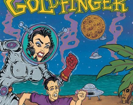 GOLDFINGER: il self titled finalmente in vinile!