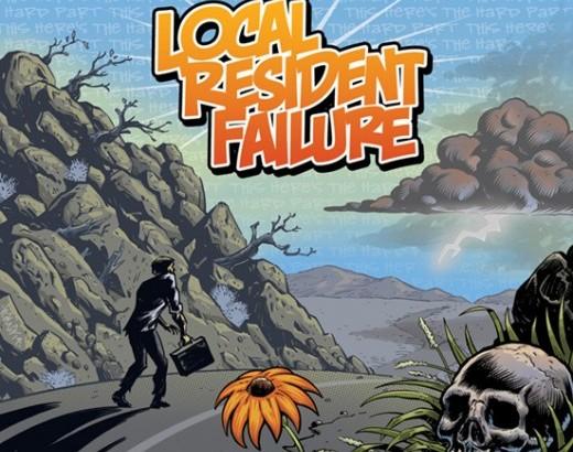 LOCAL RESIDENT FAILURE: dettagli del nuovo album