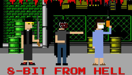 CAVAVERMAN: 8 Bit from hell