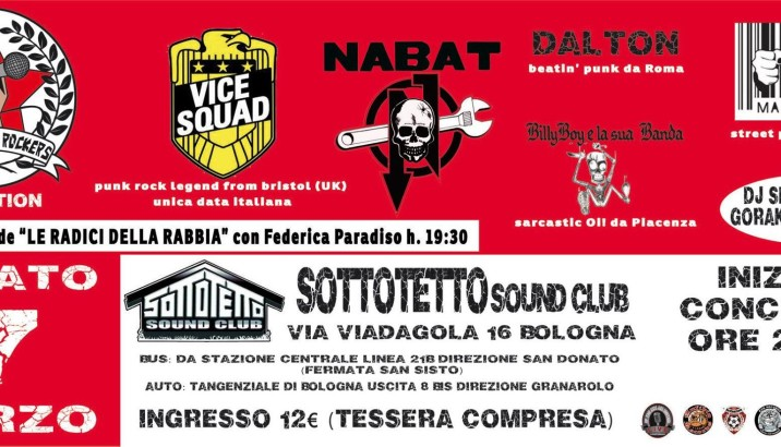 Bologna City Rockers 1st EDITION!!!
