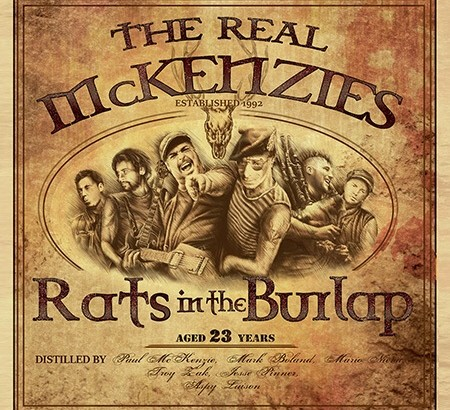Annuncio del nuovo album dei REAL MCKENZIES