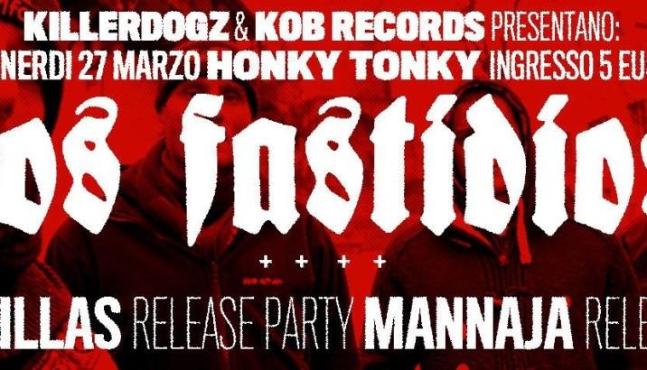 DOPPIO RELEASE PARTY (Brambillas e Mannaja)+Los Fastidios all' Honky Tonky di Seregno