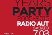 10 ANNI DI RADIO AUT PAVIA con gli ASHPIPE (07/03/2015)