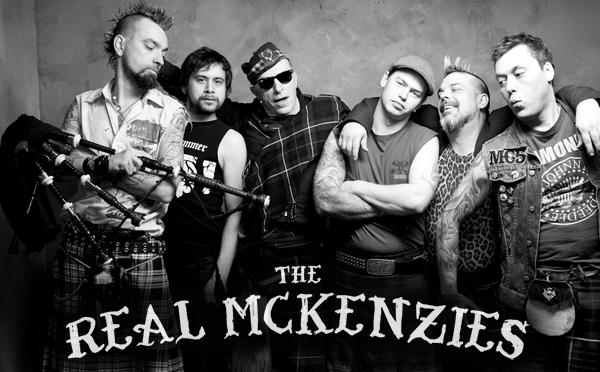 THE REAL MCKENZIES: l'anticipo, aspettando l'album