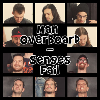 MAN OVERBOARD / SENSES FAIL: Split 7″