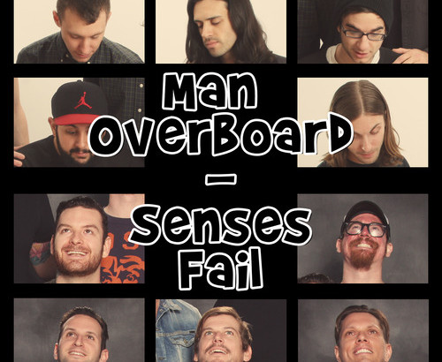 MAN OVERBOARD / SENSES FAIL: Split 7″