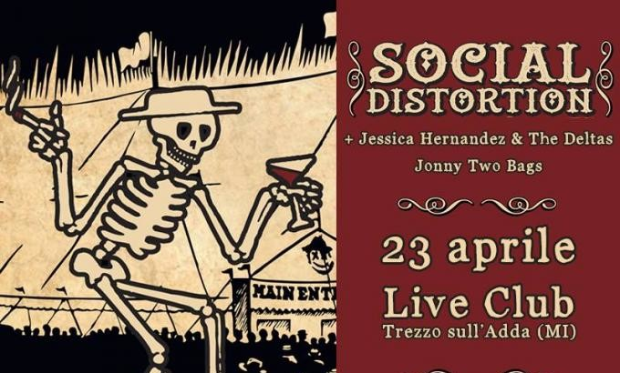 La prossima settimana SOCIAL DISTORTION in Italia