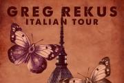 GREG REKUS in Italia a maggio