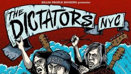 Tre date a giugno coi DICTATORS NYC