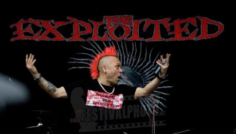 Domani THE EXPLOITED all'Honky Tonky