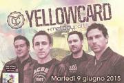 MELODY FALL : Aprono il concerto di Bologna degli YELLOWCARD