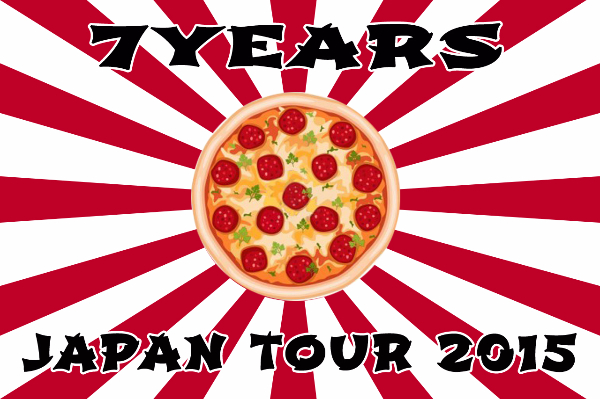 VIDEO del tour Giapponese dei 7 YEARS