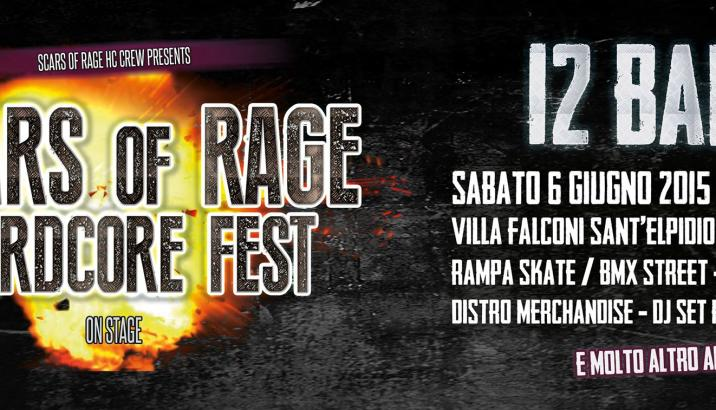 Domani SCARS OF RAGE Hardcore Fest