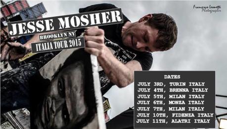 Jesse Mosher torna in Italia!